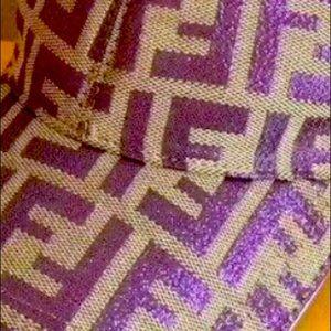 ISO Fendi purple baseball hat authentic